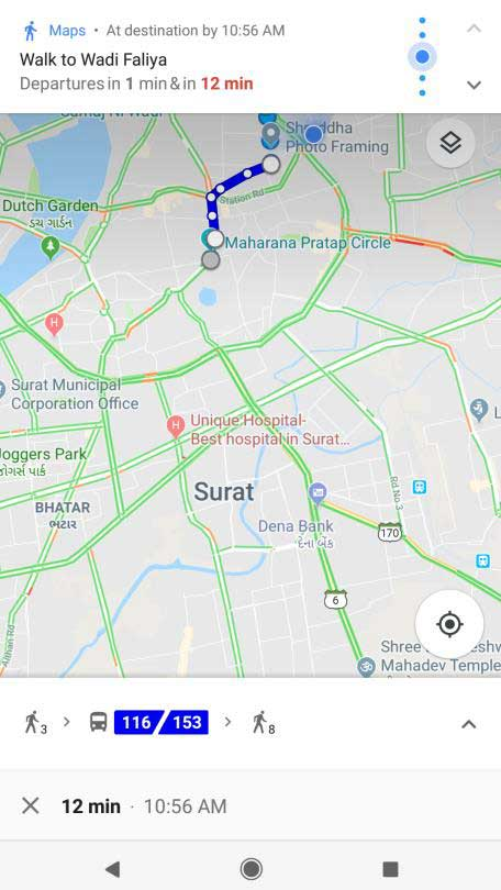 Surat Smart City - Real Time Bus Tracking