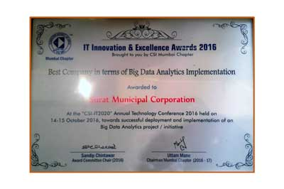 IT Innovation & Excellence 2016 Awards (CSI) SMAC Center